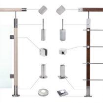 Inox käsipuu süsteemid puidule