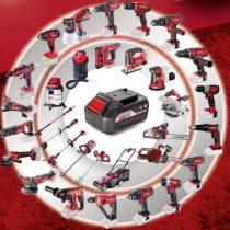 Akutööriistad R20 - 1 aku, palju tööriistu